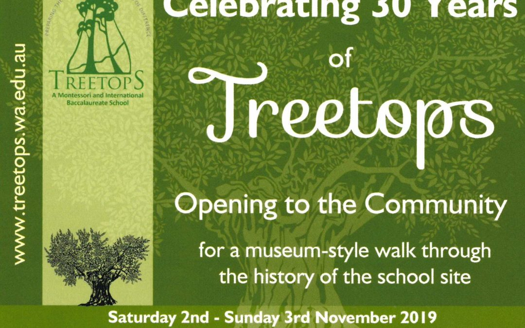 Celebrating 30 Years of Treetops